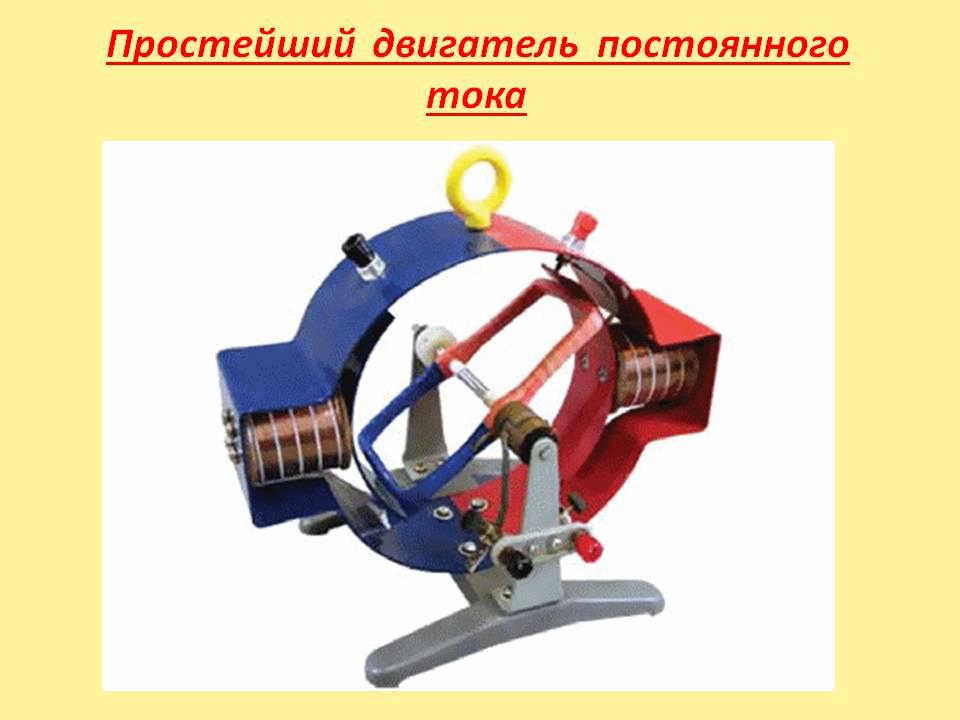 Изучение принципа работы электродвигателя на модели работа моделью в астрахани