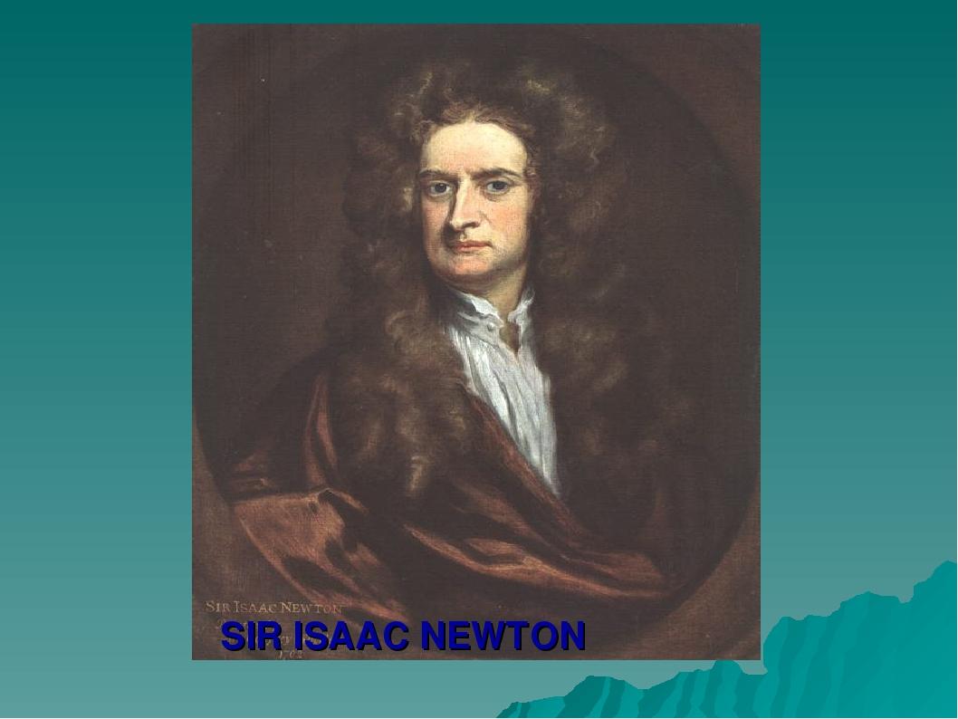 report sir isaac newton