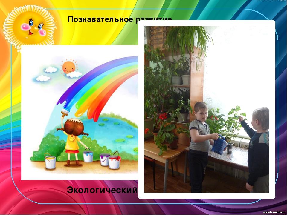 Познавательное развитие Экологический центр