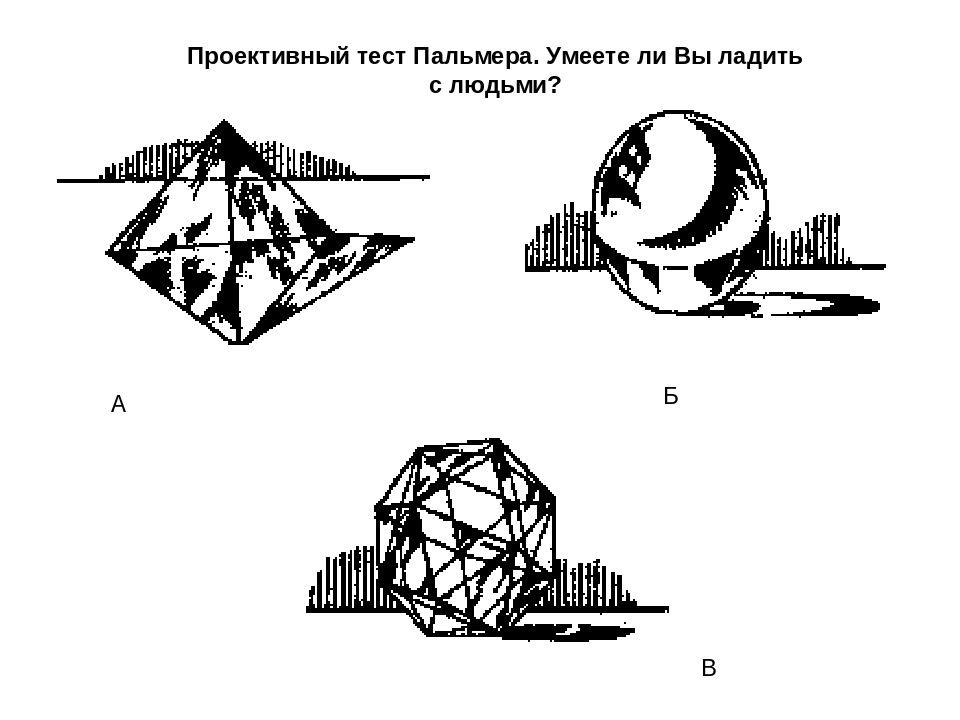 Тесты с проективными картинками