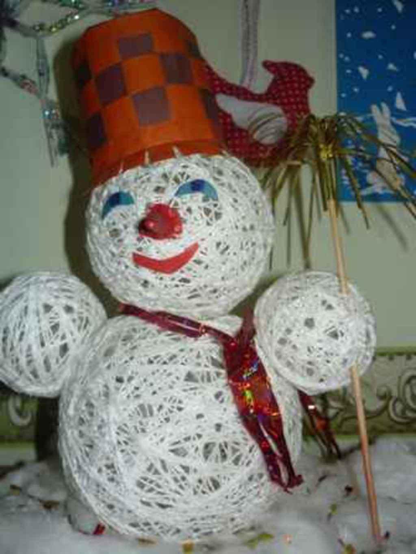 Елочная игрушка своими руками на конкурс в школу и детский