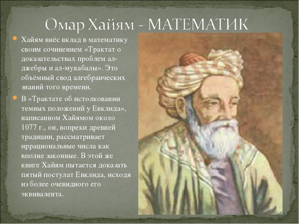 a biography of omar khayyam