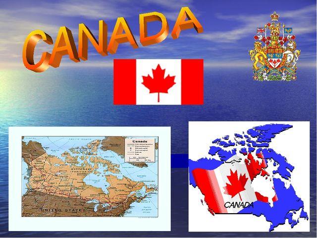 Доклад на английском языке про канаду 6995