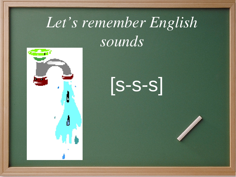 Let's remember English sounds [s-s-s]