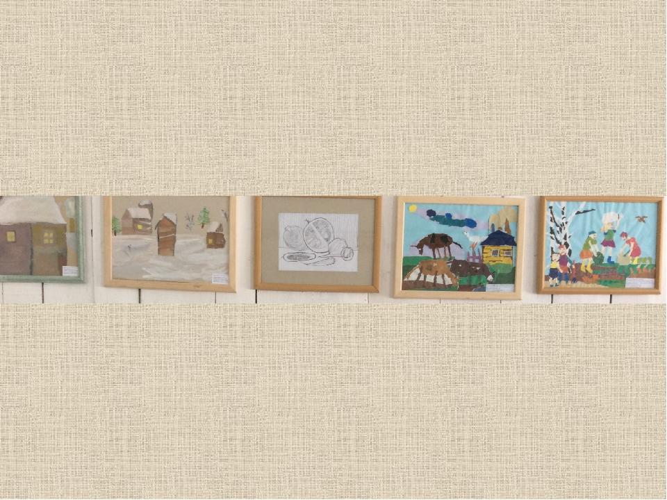 Работы с выставок