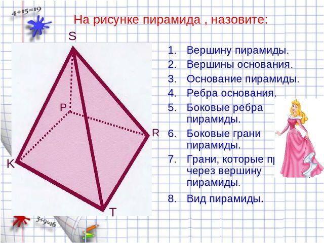 Как называется рисунки на пирамиде