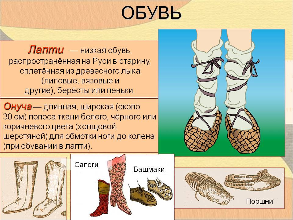 русская народная обувь с описанием картинки добиться такого результата