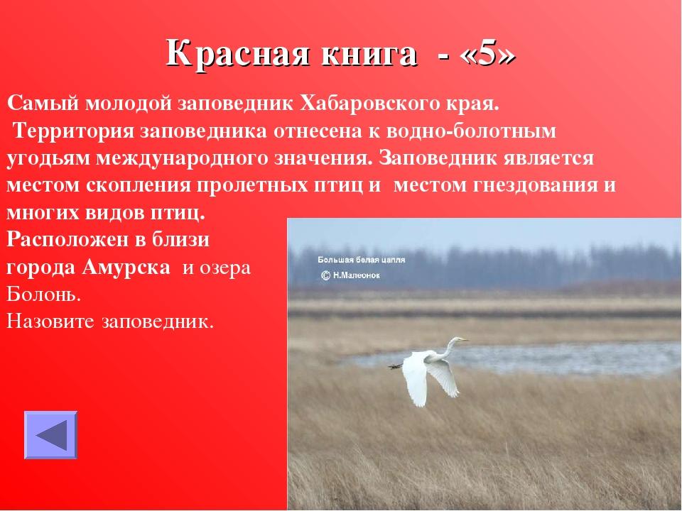 животные красная книга хабаровского края скольки лет