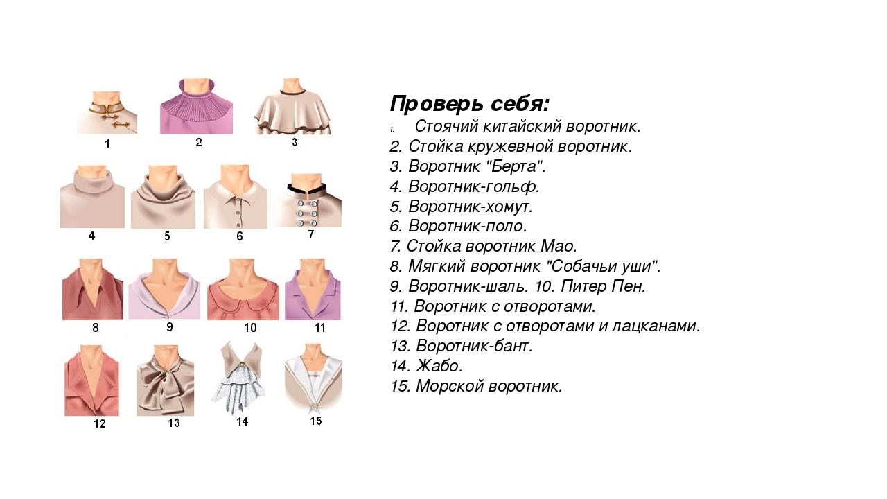 образцы воротников на платье картинки польза применения