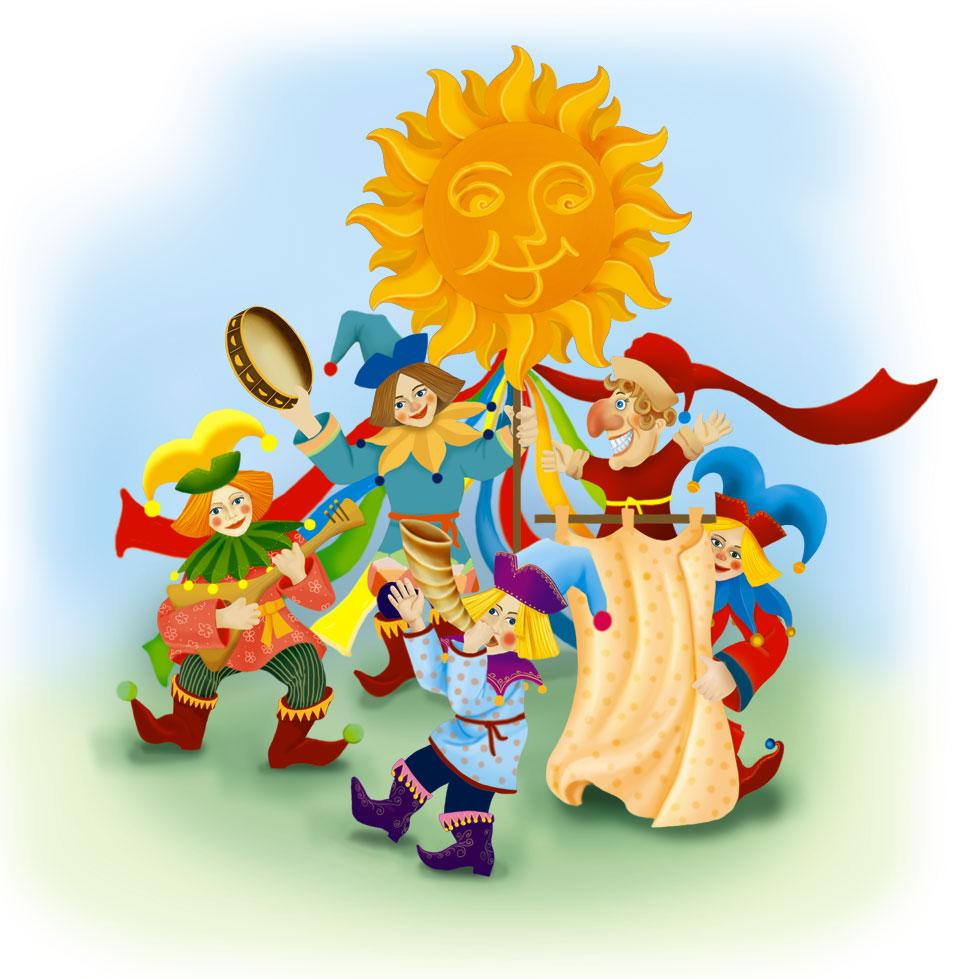 Картинки анимации ярмарка