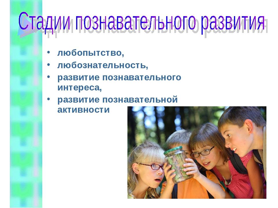 любопытство, любознательность, развитие познавательного интереса, развитие по...