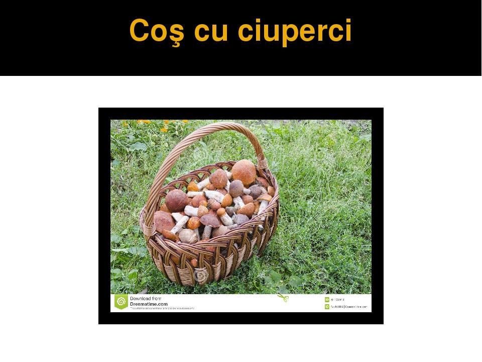 Сoş cu ciuperci
