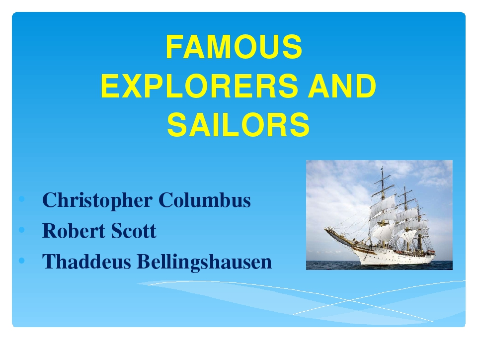 a biography of christopher columbus a famous explorer Christopher columbus was an italian explorer who lead an expedition in search of a new trade route to india under the catholic monarch of spain in 1492.