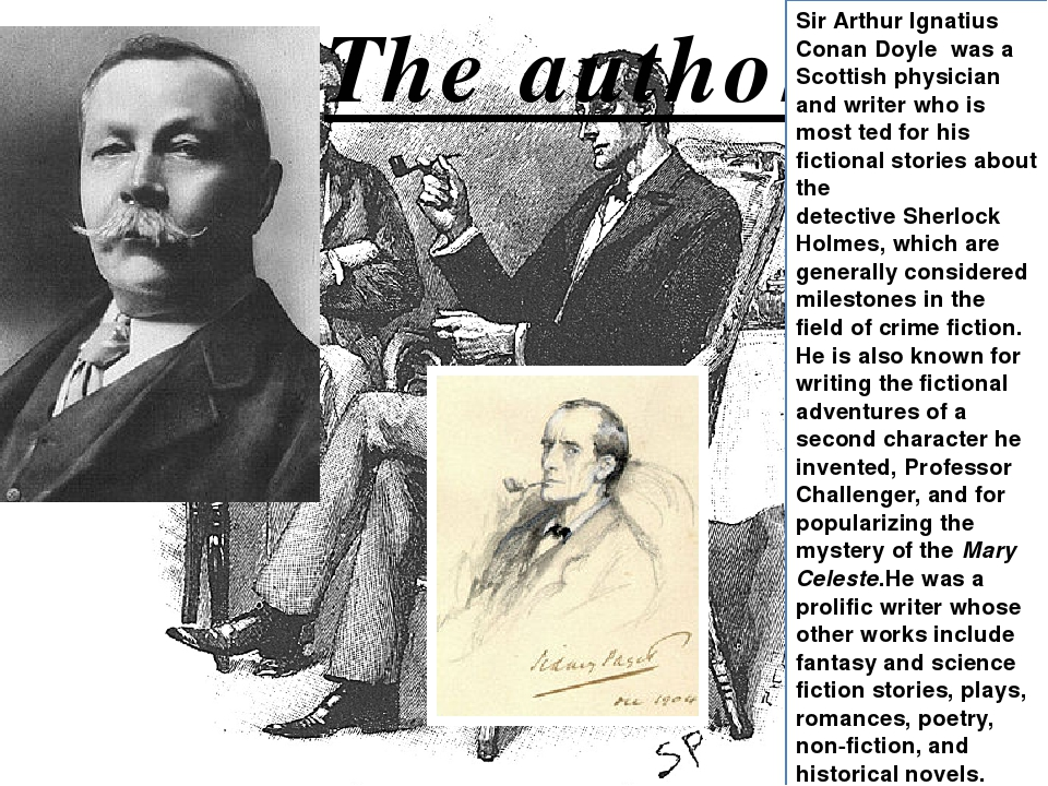 detective fiction sir arthur conan doyle essay