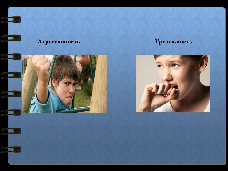 Коррекция агрессивности и тревожности у