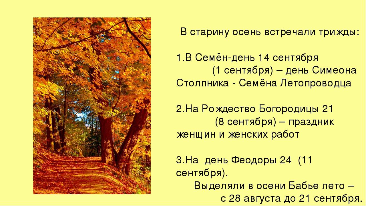 Народные приметы про осень: о погоде и не только