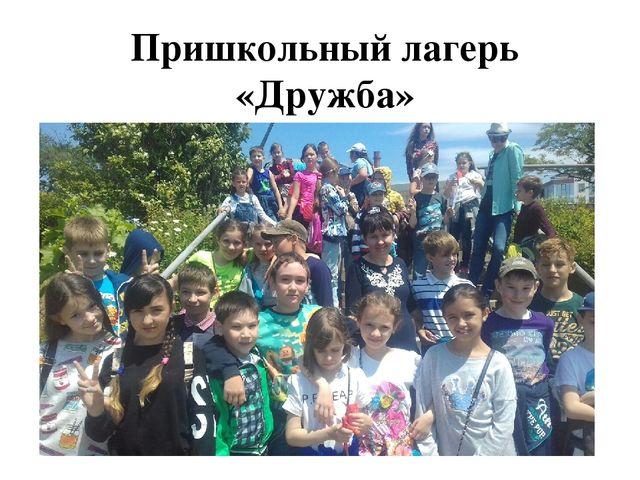 Пришкольный лагерь «Дружба» МБОУ «Гимназия №1»