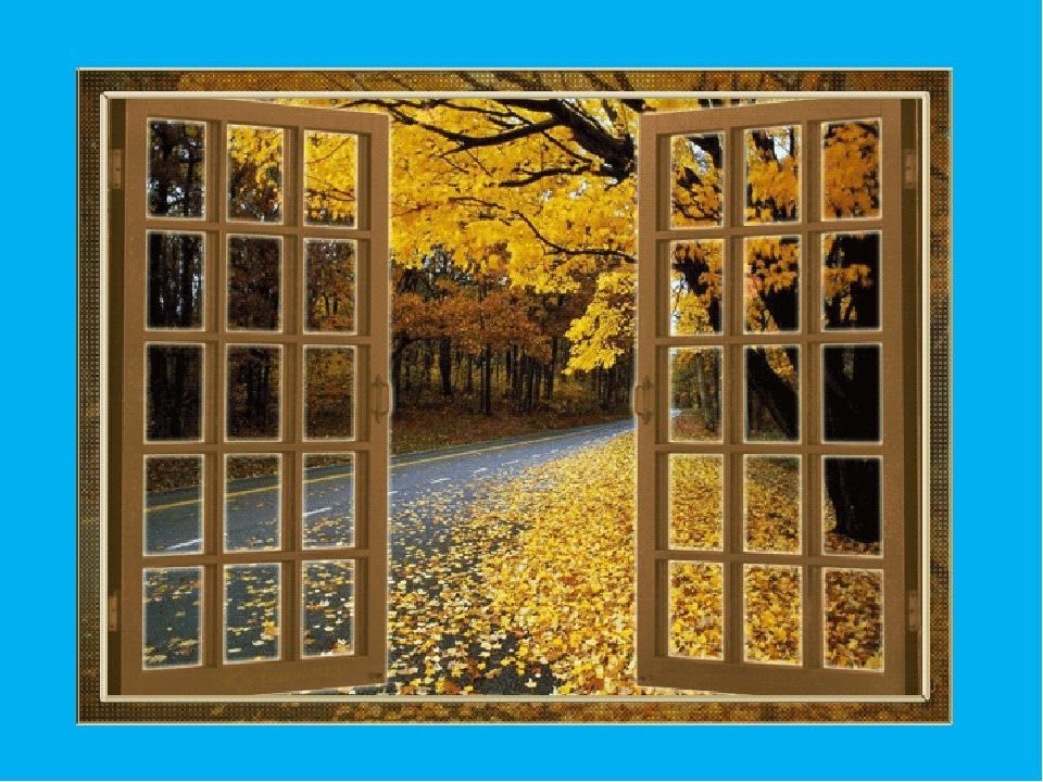 гифка дождь за окном осень гадания