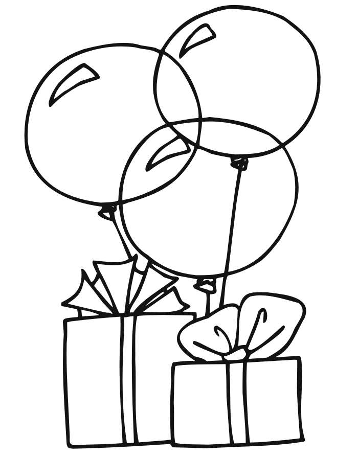 как нарисовать шарики для открытки
