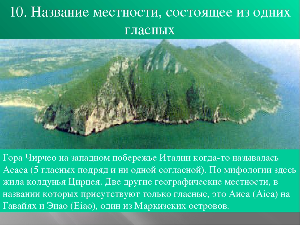 Интересные факты по географии с картинками