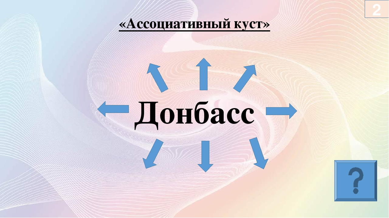 Донбасс «Ассоциативный куст» 2