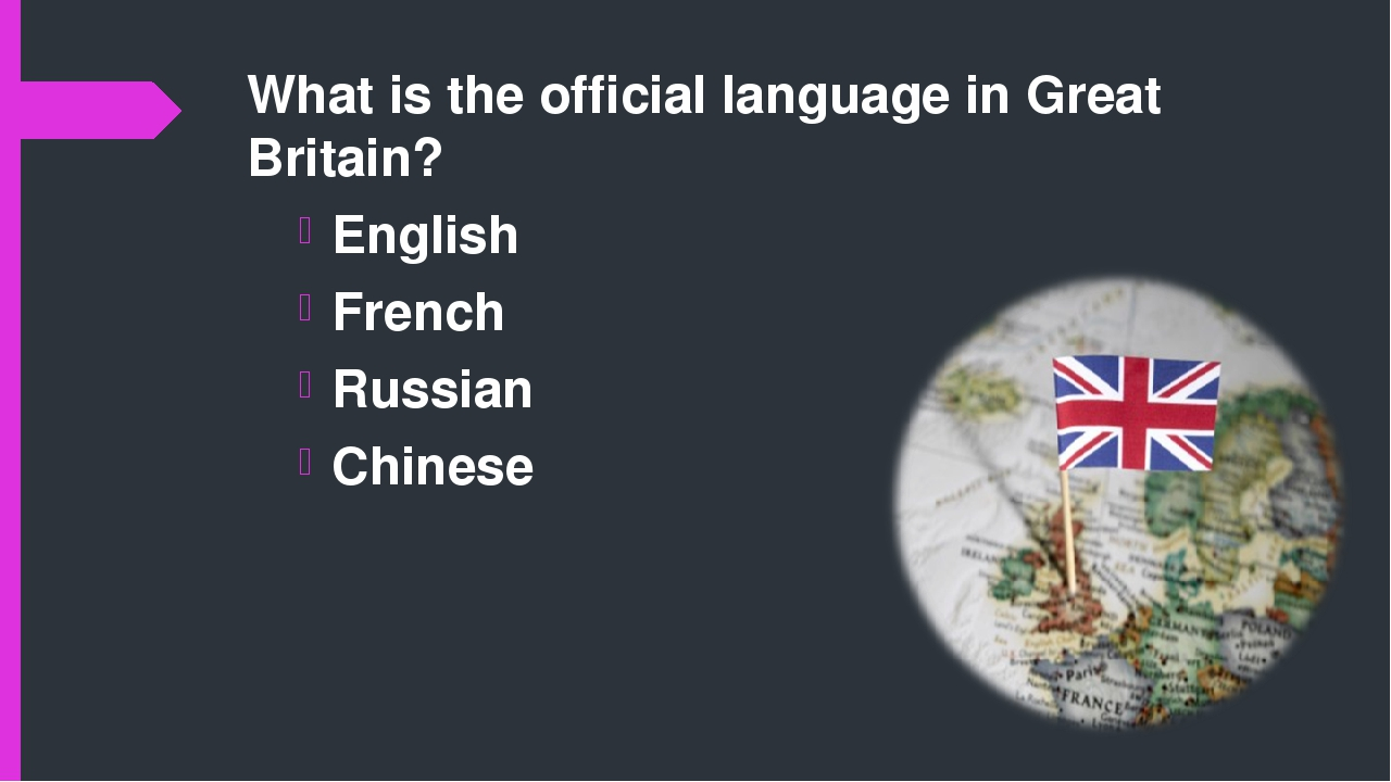 english the official language in the