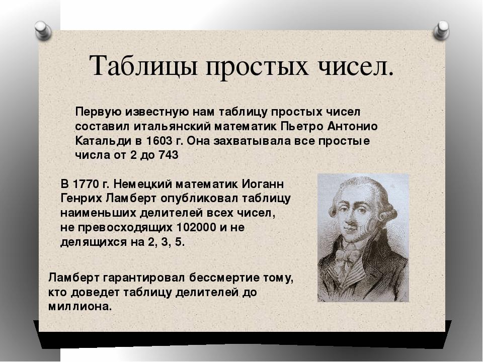 История простых чисел картинки