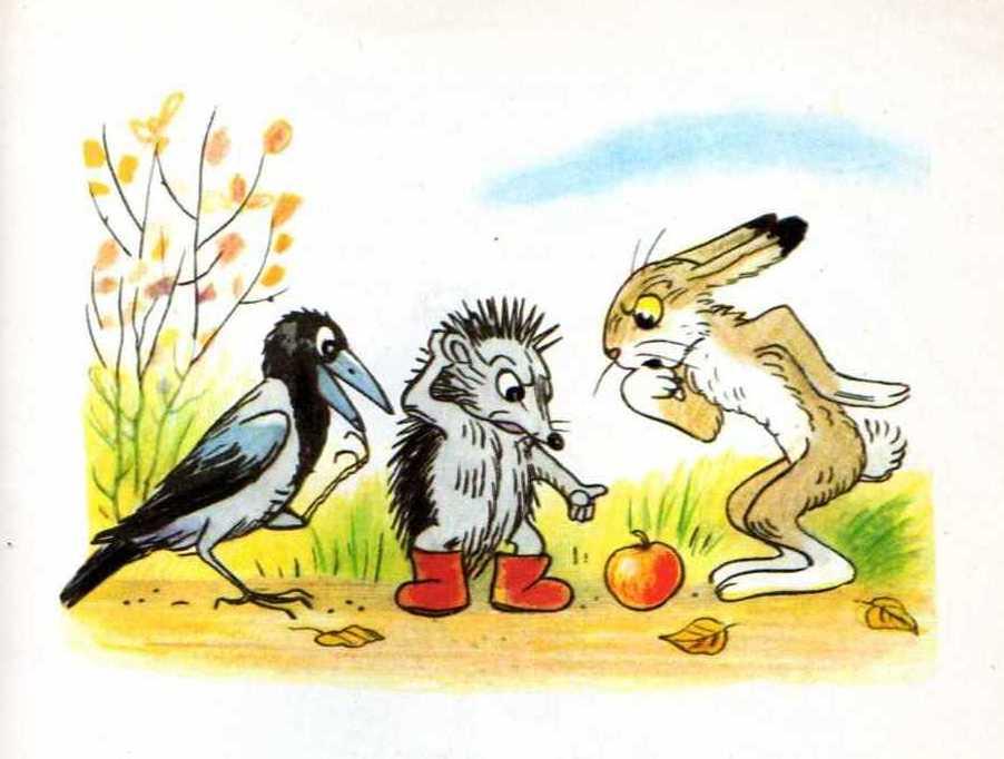 Картинки зайца сутеева