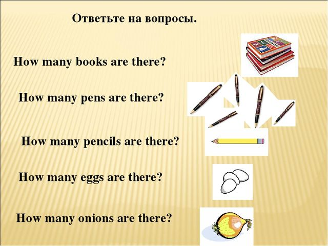 How many books are there? How many pens are there? How many pencils are there...