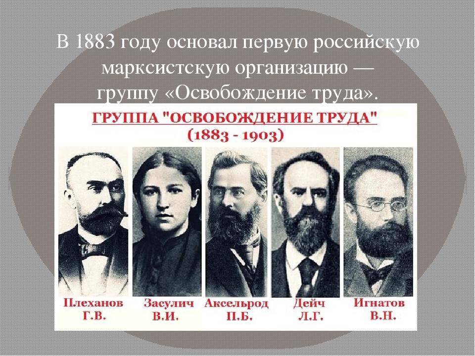 Фото исторических деятелей партии народная воля