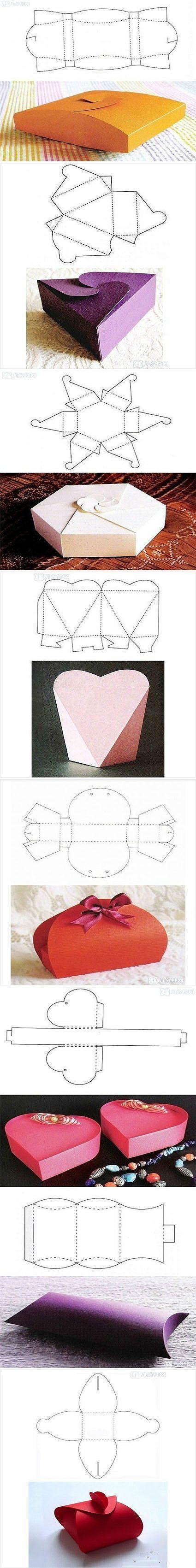 Из бумаги подарочные упаковки своими руками
