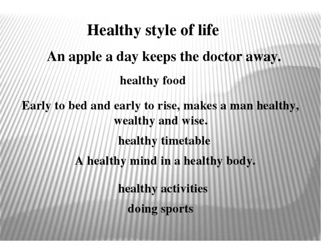 Healthy style of life An apple a day keeps the doctor away. healthy food Earl...