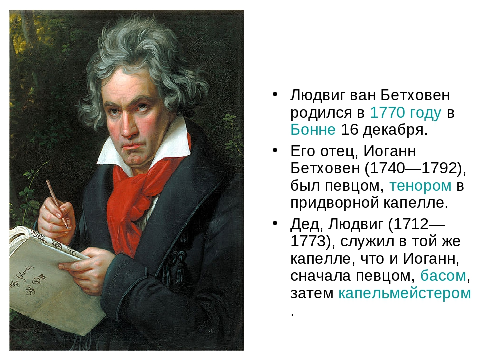a biography of ludwig van beethoven who was born in germany