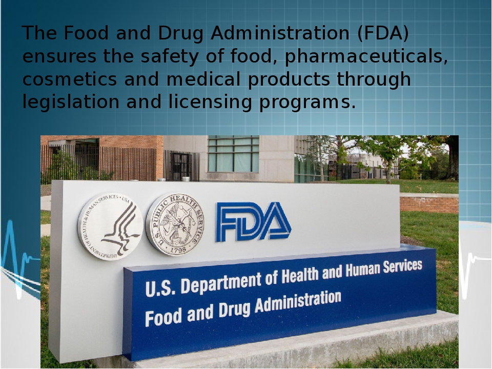 """an introduction to the work of the united states food and drug administration fda New fda policies on antibiotic use in food sold in the united states were for food food and drug administration, """"fda 2012 summary report on."""