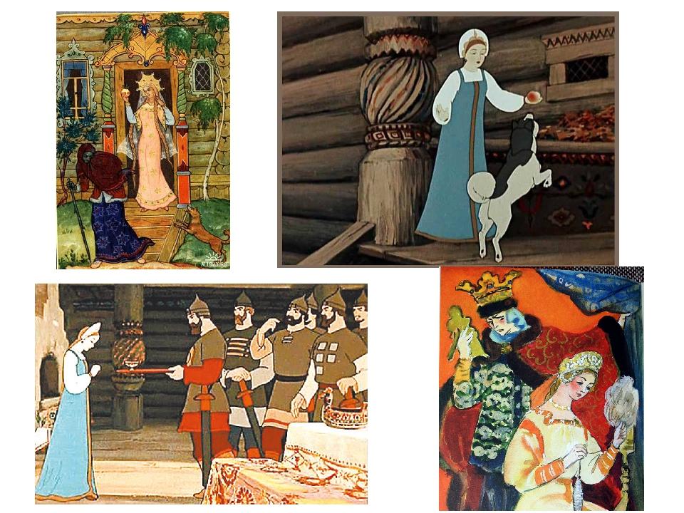 Картинки сказки пушкина сказка о мертвой царевне и семи богатырях