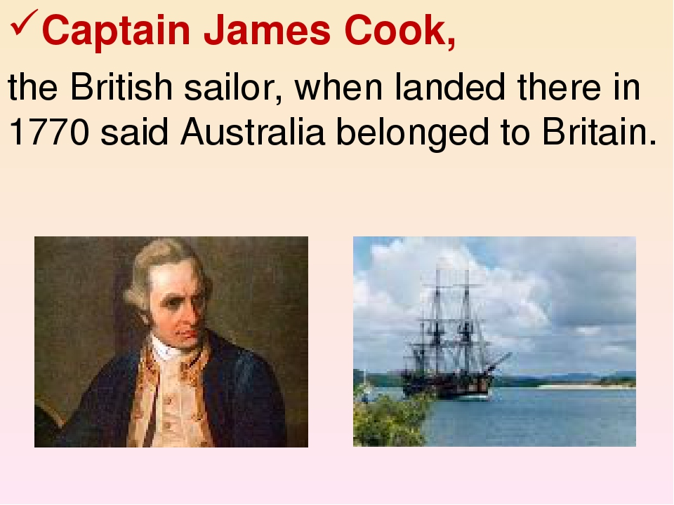 captain james cook summary