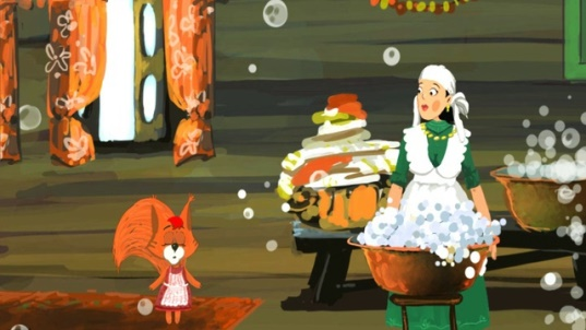 Татарская народная сказка три дочери с иллюстрациями