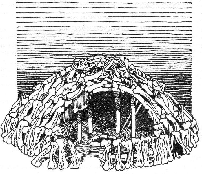 древние жилища человека картинки известным персонажем