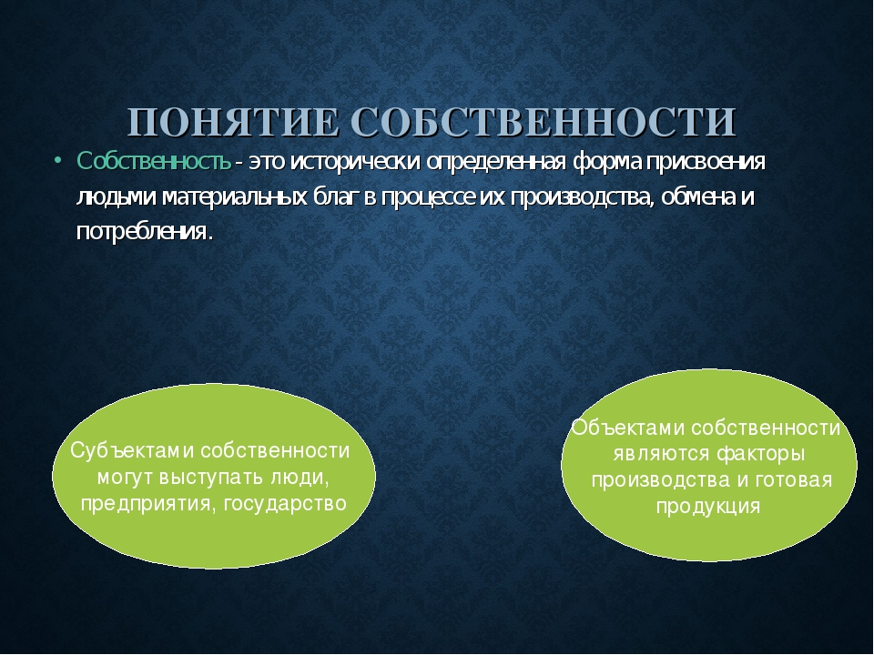 Доклад на тему собственность и конкуренция 9854