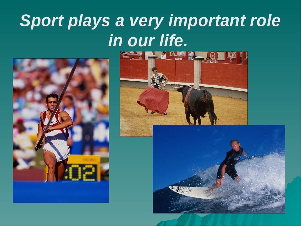 the role and importance of golf in my life What is the importance of sports in our lives  experiencing the role of a graceful winner and loser teaches  importance of games and sports in life.