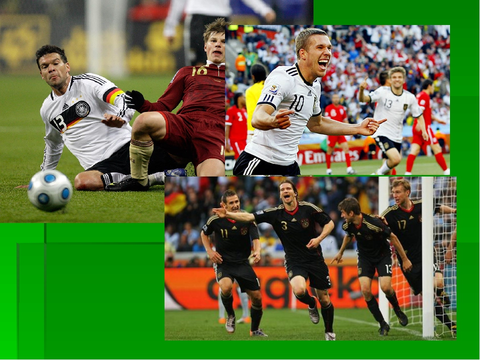 Сведения о футболе на немецком языке