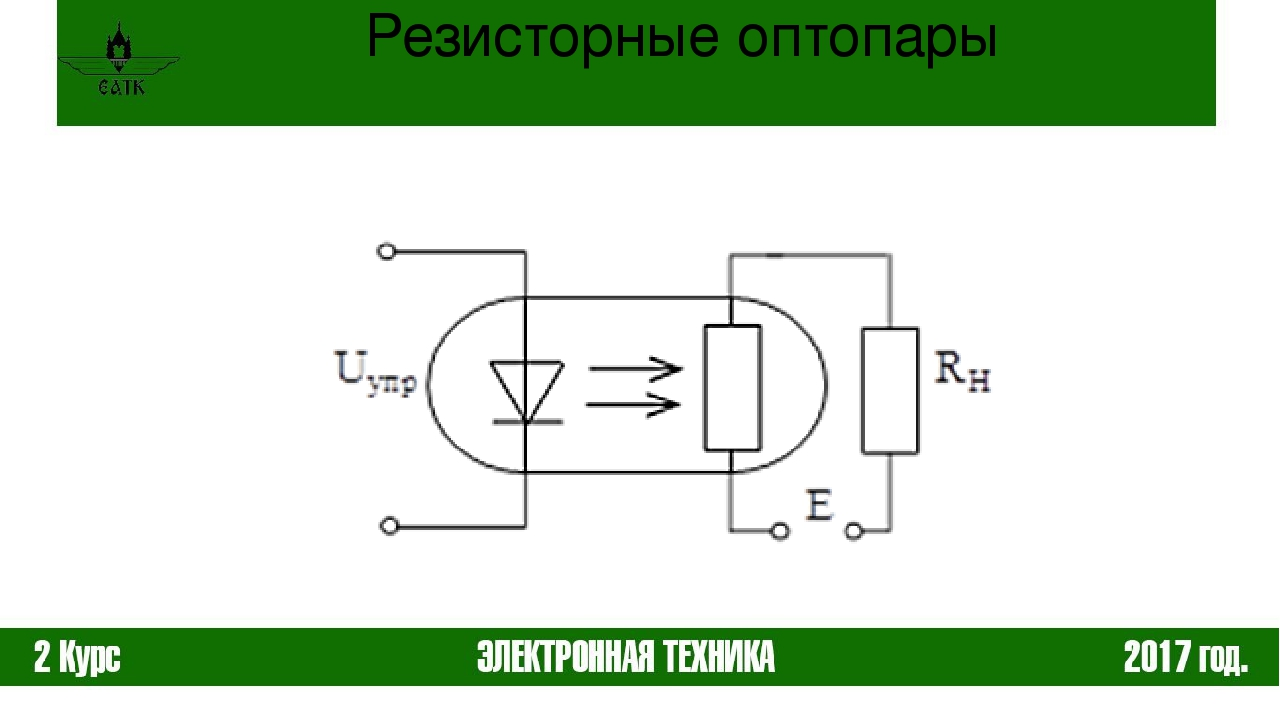 фоторезисторная оптопара зарубежный пяти