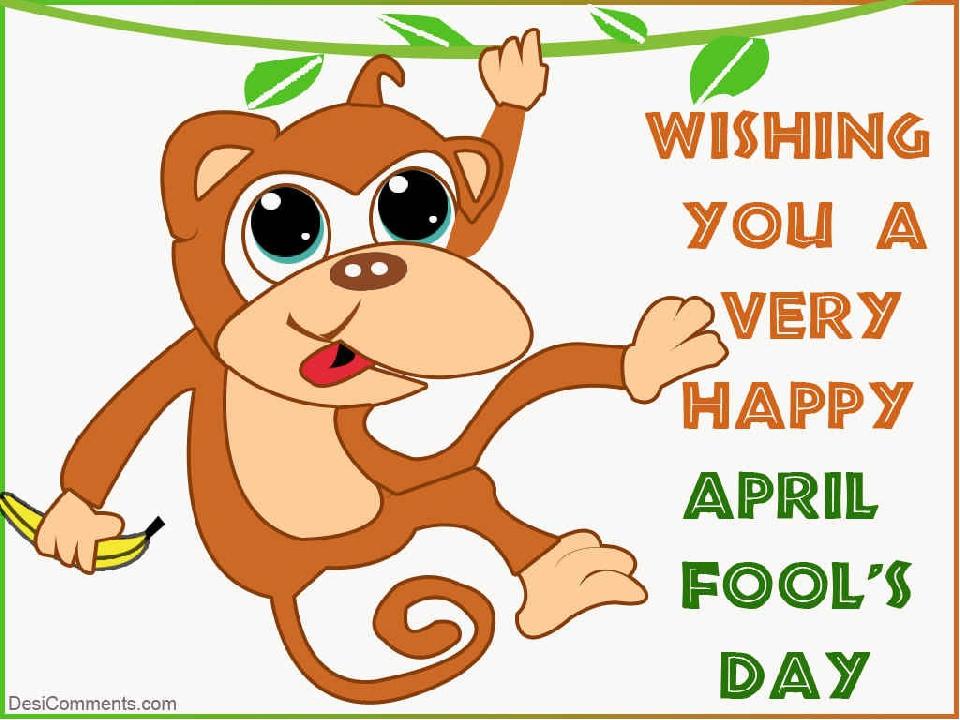 Поздравление с первым апреля на английском