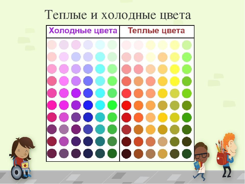 Картинки теплого цвета