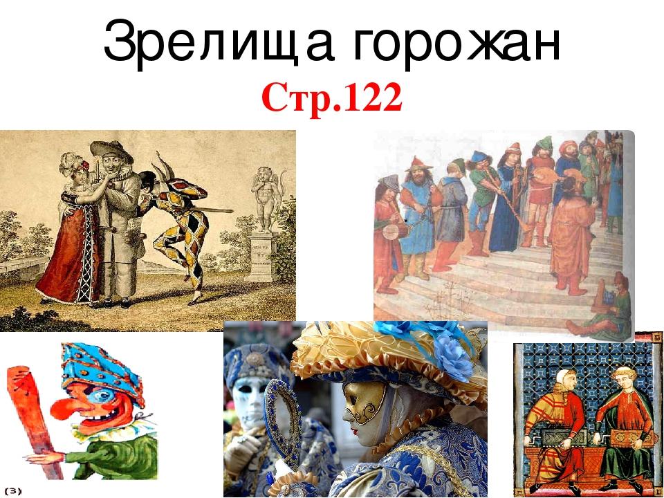 Горожане их образ жизни история
