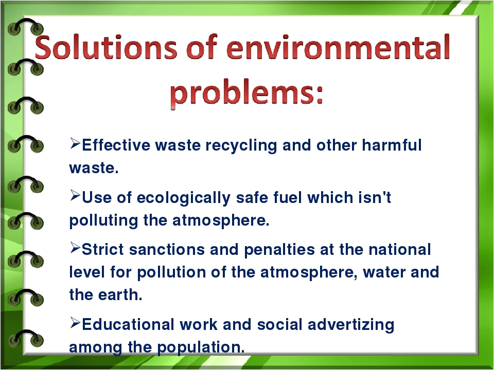 strategies adopted to manage environmental problems This document sets out the strategy adopted by the world health organization (who) to manage water quality with a view to protecting and promoting human health 12 the water quality and health strategy is a framework for action by the who.