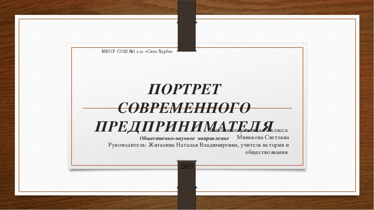 Введение: Цель исследования: Выявление качеств личности, присущих успешным пр...