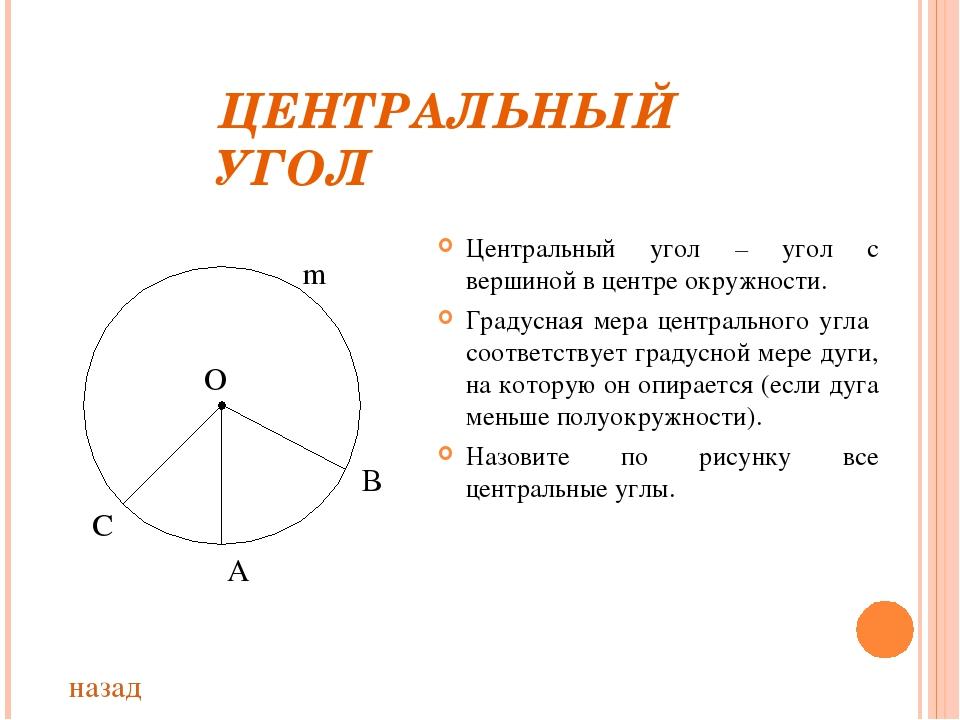 продажу градусная мера дуги на которую опирается угол квартиру Климовске