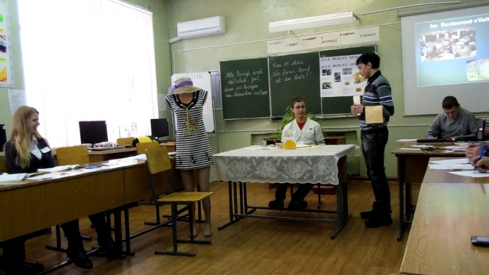 Диалоги учащихся по немецкому языку на тему «Профессии»