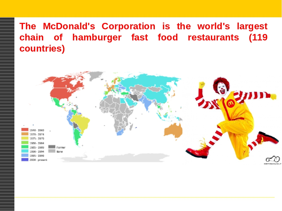 the mc donalds corporation overview essay Business development essay report writing analysis: company strategy of mcdonald's communication – its effectiveness and improvements question asked.
